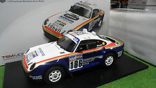 PORSCHE 959/50 DAKAR RALLY #186 RAID 1/18 TRUESCALE TSM121807R voiture miniature