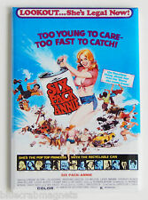 Six Pack Annie Fridge Magnet (2.5 x 3.5 inches) movie poster exploitation