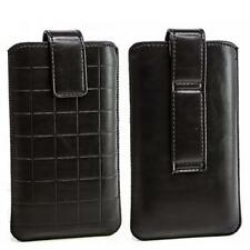 Gürtel Handy Tasche Schutz hülle Sony Xperia Sola Mt27i schwarz Etui Bag Case