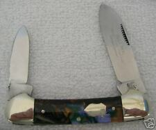 BULL DOG 2-BLADE CANOE FOLDING KNIFE