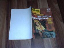 Tom Candrix -- FLEDERMAUS Kriminal-Roman  898 /Ein GRIFF ins SCHLANGENNEST