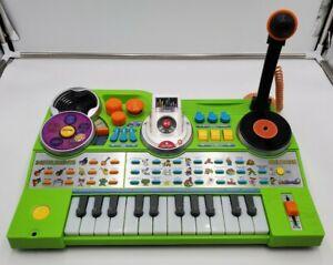 VTech KidiJamz Studio Player Keyboard and MP3 Removable Recorder. Works!