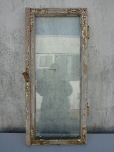 altes Fenster Holz Holzfenster verwittert shabby chic ca. 42,1 cm x ca. 95,3 cm