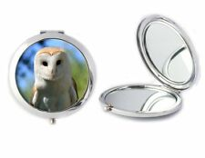 Barn Owl Compact Mirror Ideal Ladies Birthday Mothers Day Gift T46