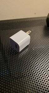 OEM Authentic Apple iPhone USB Wall Charger Power Adapter Cube