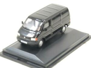 Oxford Diecast 76T4004 VW Volkswagen T4 Van Black 1 76 Scale Boxed