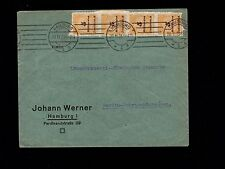 Germany Inflation Period Roulette 20 Billion ! Marks Hamburg 1923 Cover 1p