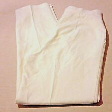 Counterparts Womens Size 12 Cream Wool Blend Career Pants Pleated Front