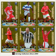 2011/12 Topps Premier League Match Attax Golden Moment Full Set (G1-G40)-RARE