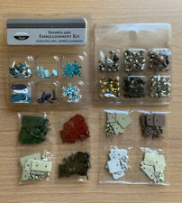 Assorted Lot Of 4, Scrapbook Fasteners, Brads, And Other Various Designs