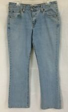 Women's Size 10M Levi Strauss Signature Stretch Low Rise Boot Cut Jeans 34 X 31