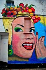 Graffiti Street Art In Camden Town London NW1 England UK Photograph Picture
