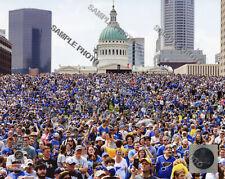 2019 St. Louis Blues Stanley Cup Champions 8x10 Authentic Parade Photo 2