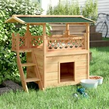 Dog House Ideal Home For Small Dog Made From Wood Ideal For Outside Weatherproof