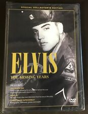 Elvis Presley - The Missing Years DVD/CD/BOOKLET  NEW