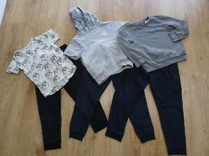 NEXT boys 6 piece autumn clothes tracksuit jogger trousers t shirt jumper 6 -7