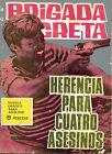 BRIGADA SECRETA nº123-HERENCIA PARA 4 ASESINOS-DIBUJOS GUAL ed.TORAY 1965