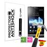 Screen protector Anti-shock Anti-scratch Anti-Shatter Clear Sony Xperia S