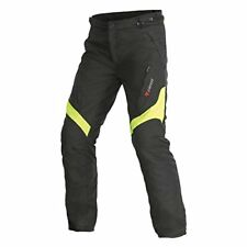 Pantaloni Tessile Dainese Tempest Pants D-dry 56-black / Yellow Fluo