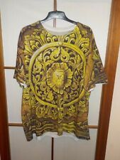 L.a.t.h.c. los angeles Treehouse club vintage t-shirt arte ornamentos oro XXL