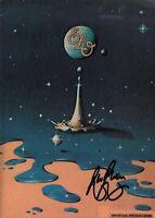 BEV BEVAN SIGNED ELO / ELECTRIC LIGHT ORCHESTRA 1981 TIME TOUR PROGRAM BOOK