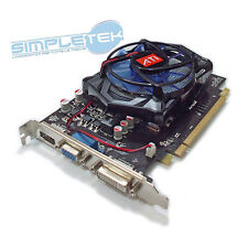 ART.188 ATI AMD RADEON HD 7670 4 GB VIDEO CARD, NEW GUARANTEED 12 MONTHS