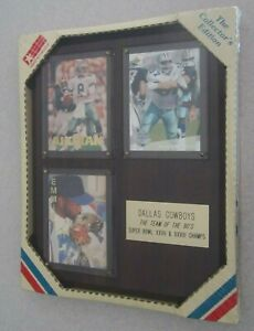The Collector's Edition Dallas Cowboys Team Of The 90's Super Bowl Champs Plaque