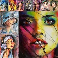 5D DIY Full Drill Diamond Painting Beauty Cross Stitch Needlework Mosaic Kit