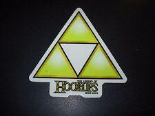 HOOK-UPS Logo Skate Sticker TRIFORCE link skateboards helmets decal hentai