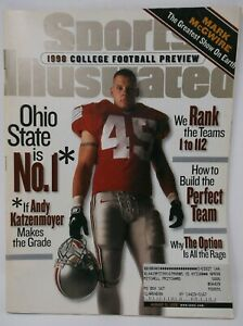 Sports Illustrated 1998 COLLEGE FOOTBALL PREVIEW