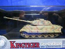 DRAGON ARMOR KING TIGER PORCHE TURRET W/ZIMMER MOD 60105 SPAZBT 503 1944