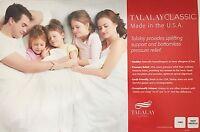 2 Talalay Global Talalay Classic High Profile Latex Pillow King Size Made in USA