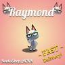 Raymond Villager Fast Delivery! + Gifts, Animal Crossing: New Horizons