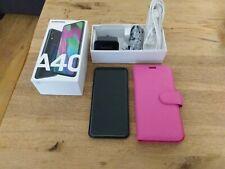 Samsung Galaxy A40 - 64GB - Black (Unlocked) (Dual SIM) Smart mobile phone