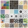 19pcs 3D Mosaik Fliesenaufkleber Wandaufkleber Küche Bad Fliesenfolie Klebefolie
