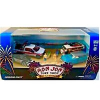Greenlight *Green Machine* Ron Jon Surf Shop Diecast Model Diorama Chase VW HTF