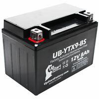 12V 8Ah Battery for 2011 Honda EU3000 - Factory Activated, Maintenance Free