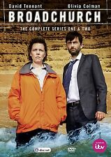 Broadchurch - Series 1-2 David Tennant, Olivia Coleman NEW AND SEALED UK R2 DVD