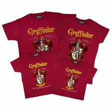 Family Harry Potter T Shirt Gryffindor Crest Official Merchandise