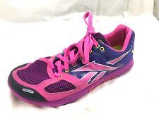 Reebok Crossfit Bug pink purple tennis womens running shoes sneakers sz 8.5M