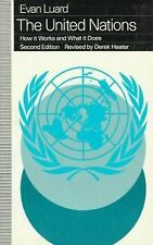 THE UNITED NATIONS How it Works and What it Does 2nd ed. by Evan Luard, Heater