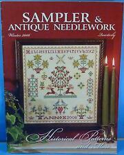 Vol 45 Sampler & Antique Needlework Quarterly Magazine SANQ