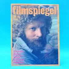 DDR Filmspiegel 24/1989 Charlie Sheen Katharine Hepburn Claude Brasseur Schorn D