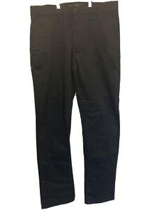 "Quicksilver Men's Size 32"" Black Chino Type Trousers Cargo Combat"