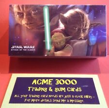 Topps Widevision - Star Wars Attack Of The Clones Complete Set Of 80 Cards Mint
