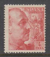 Spain - 1949, 4p General Franco stamp - M/M - SG 1125