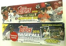 2015 & 2016 TOPPS BASEBALL FACTORY SET COMBO