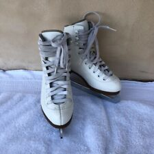 Glacier by Jackson Figure Ice Skates size 12 White for Youth