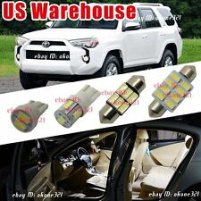 14-pc Super White Car LED Light Interior Package Kit For 2013-up Toyota 4Runner