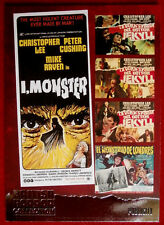 BRITISH HORROR COLLECTION - CHRISTOPHER LEE - I, MONSTER - FOIL Card F16